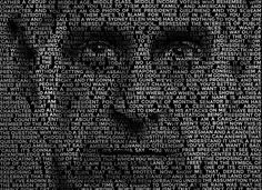 How To: Create a Text Portrait Effect in Adobe Photoshop ~ Perfect for Using the Actual Words or Quotes of the Person in the Photo.