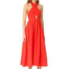 - Mara Hoffman Cotton Knot Front Dress, $250.