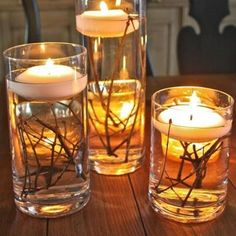 Candles are infallible piece of home decoration. It gives your home lovely romantic look, and kinda heartwarming feeling! There is always opti....