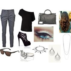 Casual Work Day by livetosing98 on Polyvore