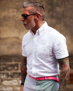 Well, not really MY Style - But he certainly oozes STYLE! Meet Mr. Nick Wooster.