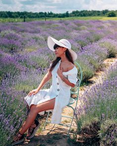 Liana Alexandra - Travel with me every day. Lavender Fields, Panama Hat, Hats, Fashion, Moda, Hat, Fashion Styles, Fasion, Hipster Hat