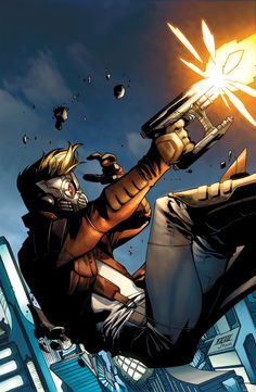 Peter Quill, was born during an unusual astronomical phenomenon when many of the planets aligned. Quill was placed in an orphanage but escaped and eventually became a trainee NASA astronaut. An alien entity called the Master of the Sun eventually visited the space station that Quill inhabited. Quill was then chosen to become Star-Lord, with the Master of the Sun first creating an illusion in which he was able to find and kill the aliens that murdered his mother.