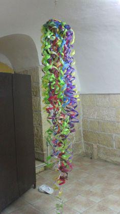 how to make water bottle wind spirals