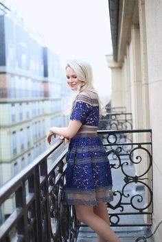 MY FAVOURITE LACE DRESS in paris (THAT'S UNDER $55) from sheinside - www.andreaclare.ca