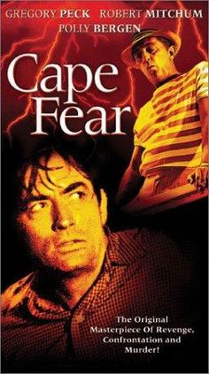 Directed by J. Lee Thompson.  With Gregory Peck, Robert Mitchum, Polly Bergen, Lori Martin. A lawyer's family is stalked by a man he once helped put in jail.