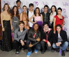 Algunos Personajes De Violetta