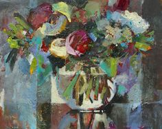 Jean Pederson Painting Acrylic Mixed Media Flowers http://artistsnetwork.tv/p-555-acrylic-painting-mixed-media-flowers-with-jean-pederson.aspx