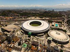 The legendary Estádio do Maracanã in Rio de Janeiro will host the championship game of the 2014 World Cup.