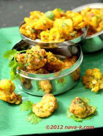nava-k: Cauliflower Fritters