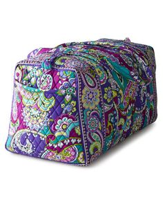Vera Bradley Heather Travel Bags - Horchow Vera Bradley Purses, Vera  Bradley Duffle Bag, 8b697069dd