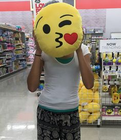 Emoji pillow! What?!