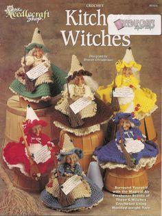 Kitchen Witches Crochet Book by needlecraftsupershop on Etsy, $9.99