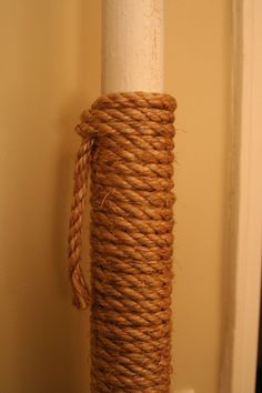 I've been looking all over for a post like this. My next home project thanks to AT: How To Insulate Hot Pipes with Rope