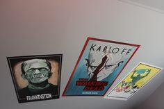 #Frankinstien #movieposters #art #murals #mural #movieroom