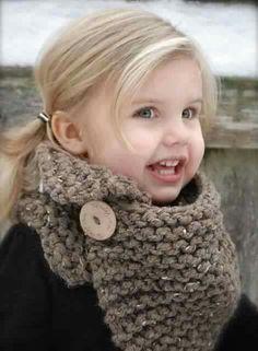 Snood grosse laine