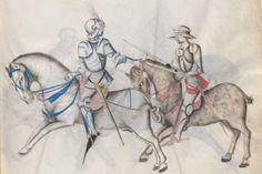 Kal, Paulus: Fechtbuch, gewidmet dem Pfalzgrafen Ludwig Bayern, 2. Hälfte 15. Jh. (nicht nach 1479) Cgm 1507 Folio 15