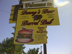 Denny's Beer Barrel Pub, Clearfield PA World's Largest Hamburgers Address: 1452 Woodland Rd, Clearfield, PA