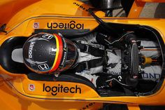 Fernando Alonso completed a clean day of testing Wednesday at Indianapolis Motor Speedway, passing rookie orientation and getting used to the 2.5-mile oval with the track to himself.
