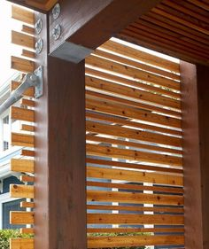 mur intimite exterieur | landscape privacy screen ideas | Green Thumb | Pinterest