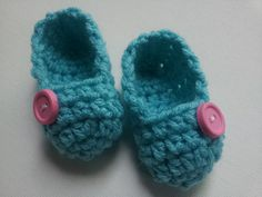 Crochet Baby Shoes Baby Girl Shoes Crochet Booties by PoochieBaby, $10.00