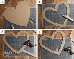 DIY: Satin-Herz für Brautpaarstühle als Hochzeitsdeko selber machen