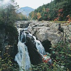 High Falls Gorge- Lake Placid/ Willmington. Près de Lake Placid, à deux heures de Montréal.