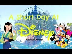 A Short Day At Disney World | Vlog by Golden Minette