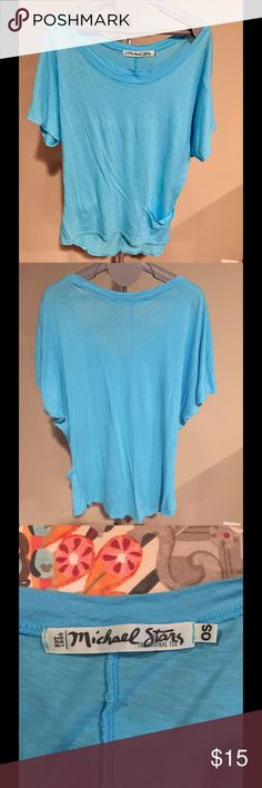 Casual & Chic Michael Stars T-Shirt!!! Michael Stars super cute & casual t-shirt!!! Beautiful Sky Blue with a flattering scoop neck. Wear it with jeans or sweats. This t-shirt is in perfect condition and has never been worn. Michael Stars Tops Tees - Short Sleeve
