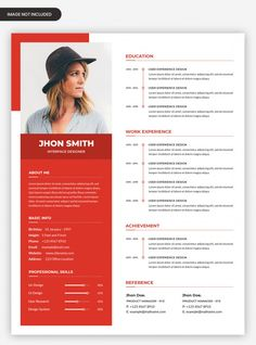 Cv Template Student, Modern Resume Template, Resume Design Template, Job Resume, Resume Tips, Resume Examples, Cv Curriculum, Resume Format Download, Cv Cover Letter
