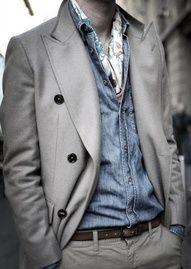 Gentleman In Grey.
