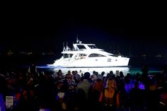 70 Sunreef Power 1 Life during the yacht parade at the World Yacht Trophies in Cannes 2014