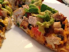 Southwest Chicken Pileups, Biggest Loser Recipe!