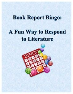 Kinds of book reports
