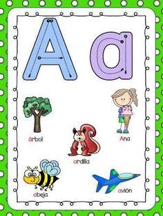 Making Language Learning Goals - The Little Language Site Preschool Learning, Preschool Activities, Teaching Kids, Teaching The Alphabet, Alphabet For Kids, Spanish Lessons For Kids, Learning Spanish, Learning Goals, School Worksheets