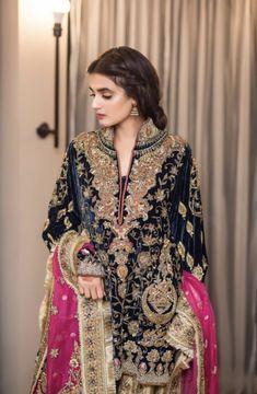 Nikkah Dress, Pakistani Formal Dresses, Pakistani Wedding Outfits, Pakistani Wedding Dresses, Pakistani Dress Design, Frock Fashion, Fashion Dresses, Indian Designer Outfits, Designer Dresses