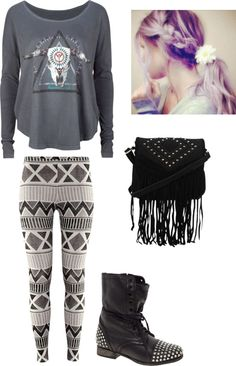 """""""out in the wild"""" by dittrichashley ❤ liked on Polyvore"""