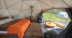 WIN! A 2-night stay in Loch Tay Highland Lodge's brand new Glamping Domes!