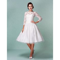 TALIYAH - kjole til Bryllupskjole i Satin – NOK kr. 803