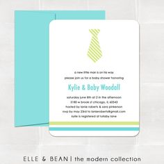 little man. baby shower invitation. printed.. $15.00, via Etsy.