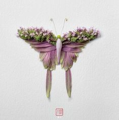 Artist Creates Insects Out Of Flower Petals And They're Beautiful