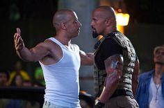 Vin Diesel & Dwayne Johnson- (Fast Five)