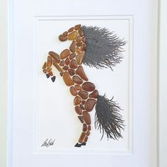 I know people prefer clears and aquas. But browns sure do create some stunning pieces. Like my seaglass horse. #seaglassartist #seaglassart #brownseaglass #horse #madetoorderart #uniquegifts #handpainted #oneofakind #beautifulinbrown