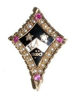 Honoring the beauty and evalution of NPC sorority badges. Sorority Sugar, Sorority Gifts, Sorority And Fraternity, Go Fly A Kite, Kappa Alpha Theta, Badges, Fancy, Greek Life