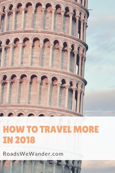 Discover exactly what you need to do in order to achieve your travel goals in 2018! Plus, get a FREE printable workbook to help you organize your goals! #travel #goals #newyears #resolutions #free
