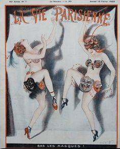 Vald'Es (Valvérane & D'Espagnat). La Vie Parisienne, 18 Février 1922. [Pinned 18-ii-2021]