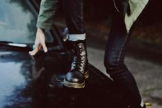 grunge, boots, and indie image Chloe Price, Slytherin, Dr. Martens, Beautiful Boys, Beautiful Images, Moira Burton, Twilight, Mathilda Lando, Polaris Marvel