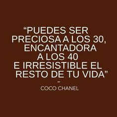 Coco Chanel Quotes Espanol. QuotesGram by @quotesgram