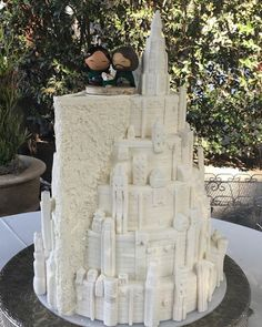 This Minas Tirith LOTR Cake Rules Them All
