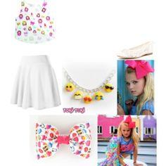 Jojo Siwa- Emoji outfit
